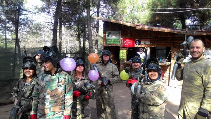 Natura Paintball Balon savaş senaryosu